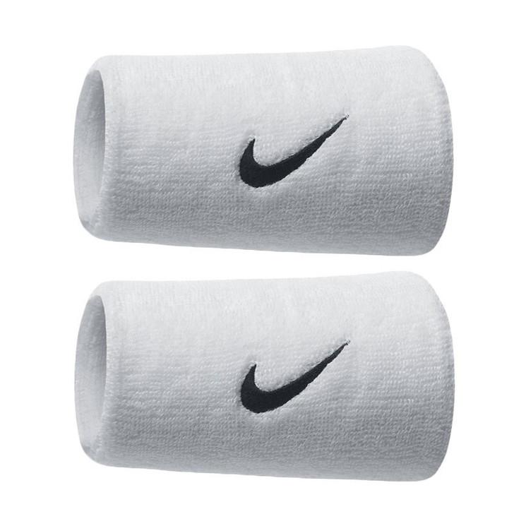 Nike Doublewide Sweatbands/Wristbands - White