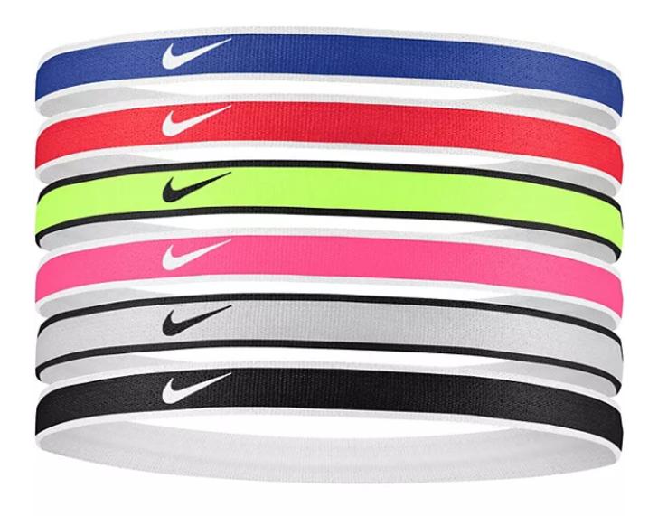 Nike Jacquard Hairbands 6 Pack