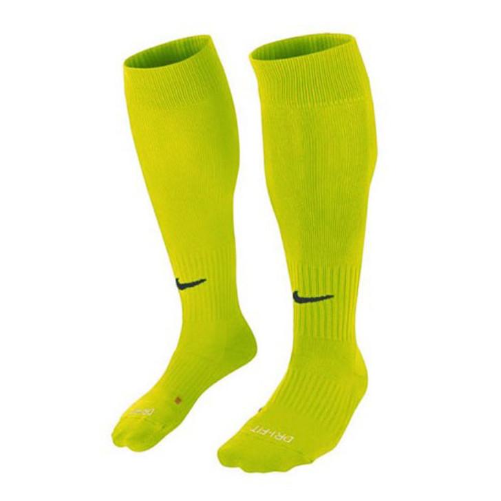 Nike Classic II Cushioned Soccer Sock - Volt