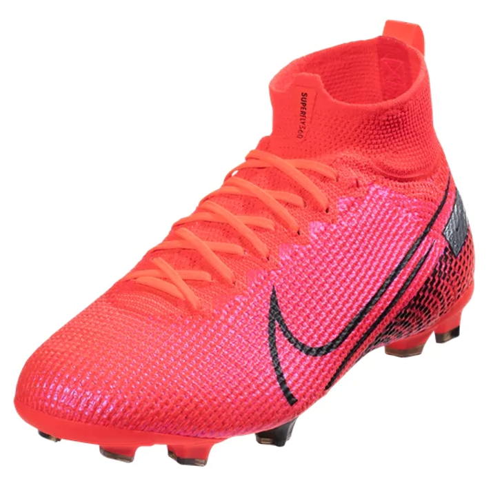 Nike Jr Superfly 7 Elite FG - Laser Crimson/Black