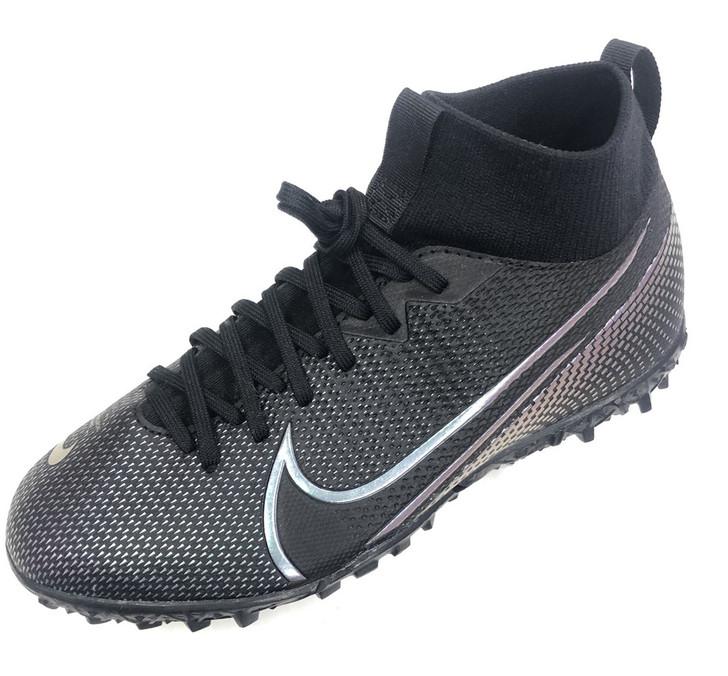 Nike Jr. Mercurial Superfly 7 Academy TF - Black/Black
