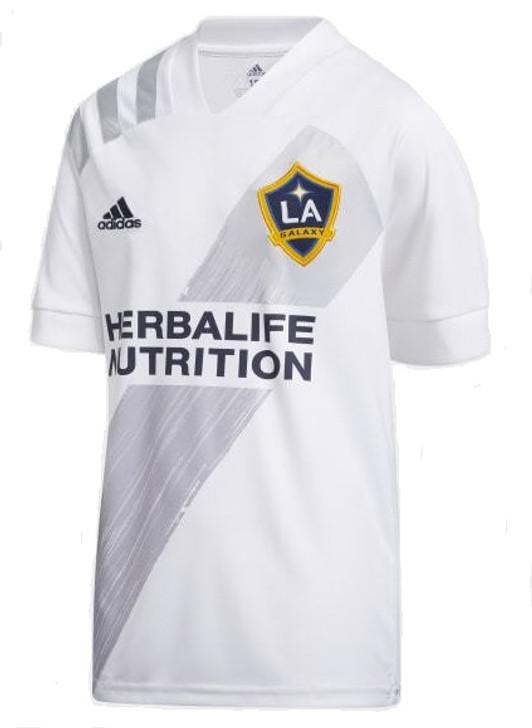 adidas LA Galaxy Youth Home Jersey 2020