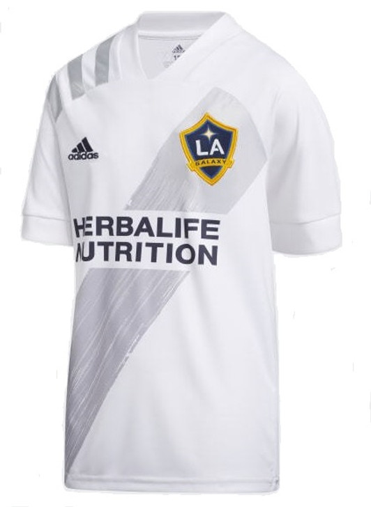 adidas LA Galaxy Youth Home Jersey 2020