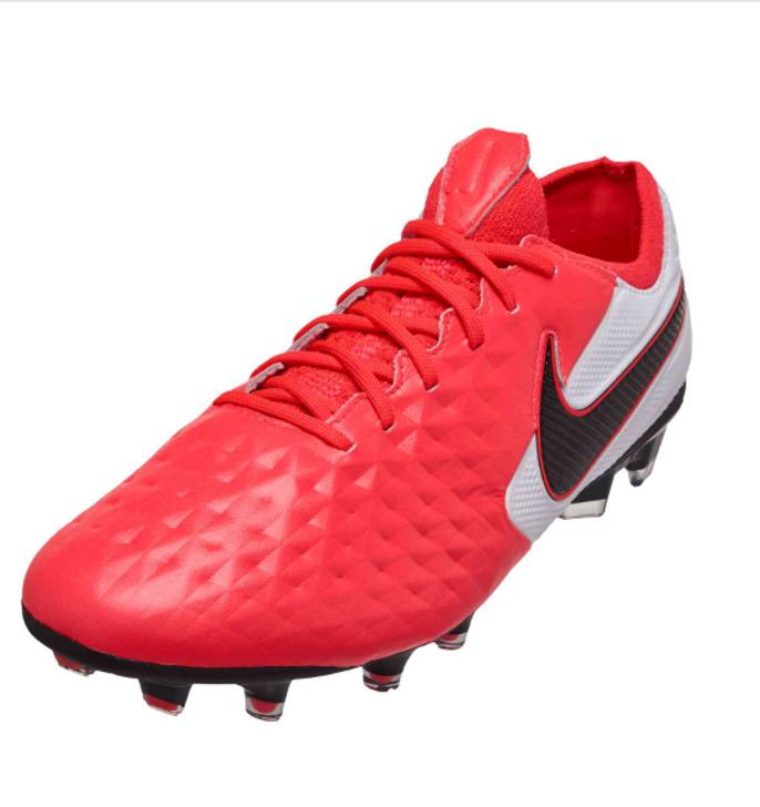 Nike Legend 8 Elite FG-Laser Crimson/Black-White