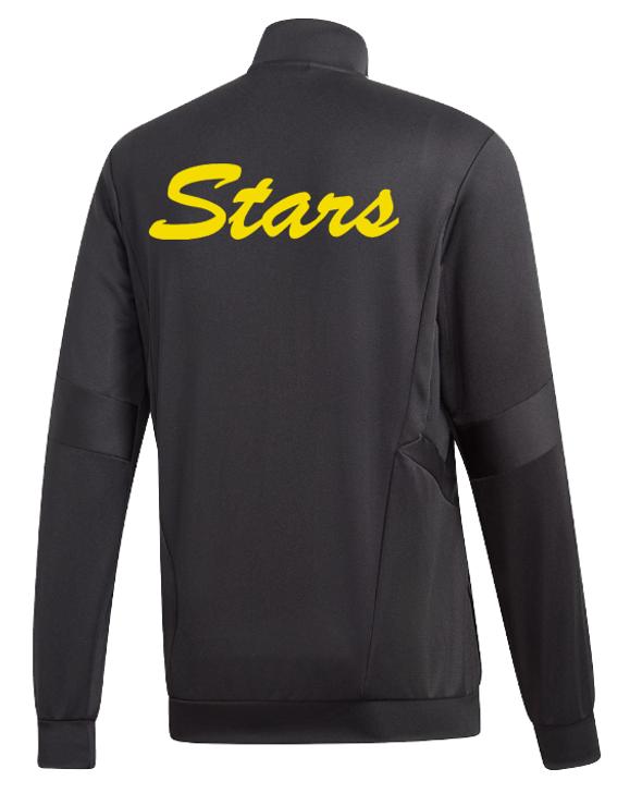 Adidas Women's C Stars Tiro 19 Training Jacket- Black/White- (062420)