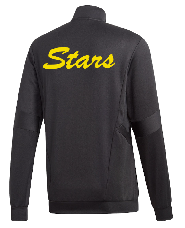Adidas Youth C Stars Tiro 19 Training Jacket- Black/White- (062420)