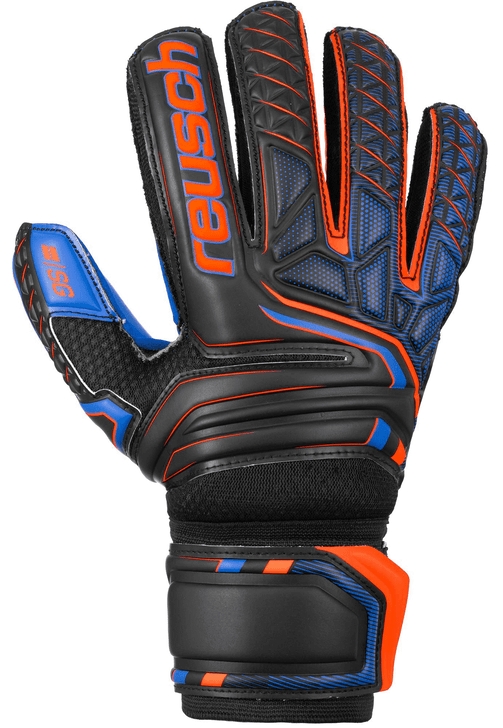 REUSCH ATTRAKT SG EXTRA FINGER SUPPORT GOALKEEPER GLOVES (062620)