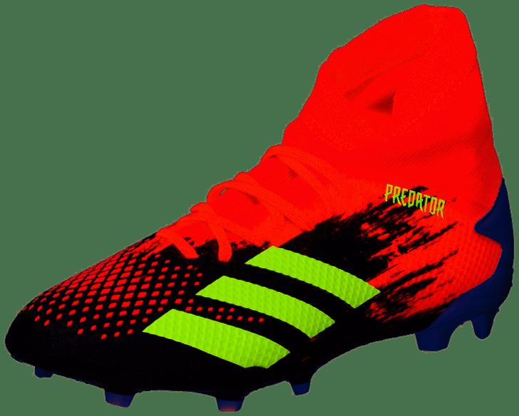 Adidas Predator 20.3 FG - Core Black/Signal Green/Pop- (010921)
