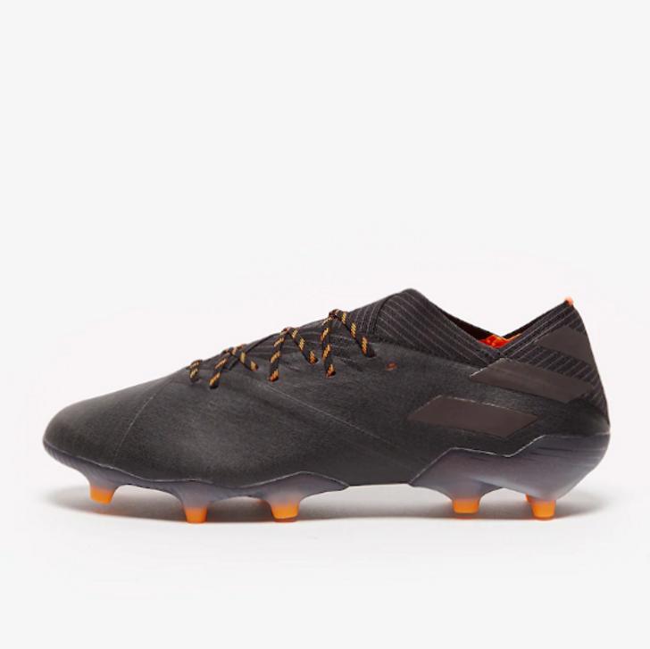 Adidas Nemeziz 19.1 FG - CORE BLACK / CORE BLACK / SIGNAL ORANGE (070820)