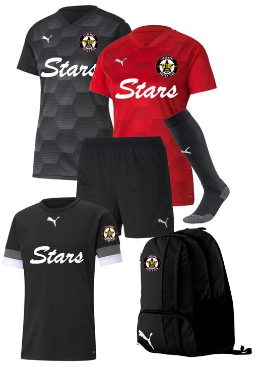 Claremont Stars Adult Women's Player Kit - Puma Final 21 Graphic