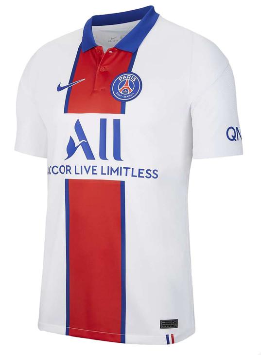 Nike Women's Paris Saint-Germain Away Stadium Jersey 20/21- CD4406-101