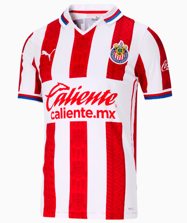 Puma Men's Chivas Home 20/21 Jersey- 763048-01
