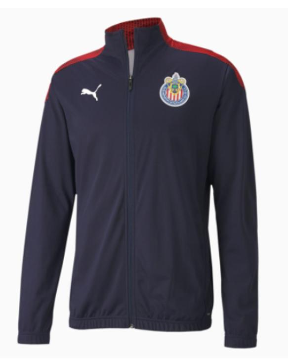 Puma Men's Chivas Stadium 20/21 Jacket- 758183-10