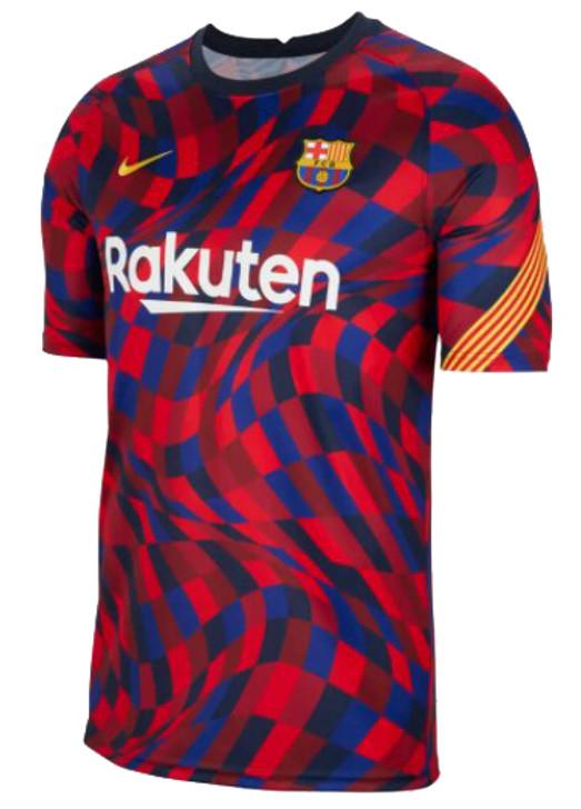 Nike Youth F.C. Barcelona Training Jersey- CD5861-658