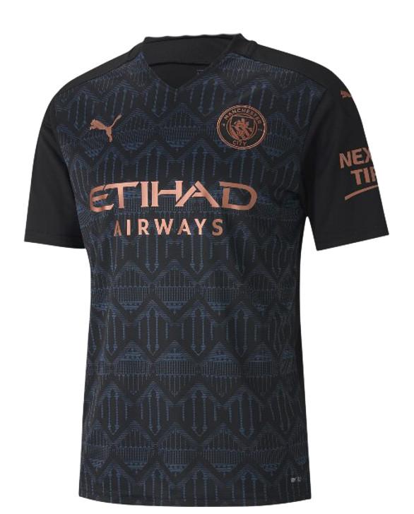 Puma Men's Manchester City Away Replica Jersey- 757065-02