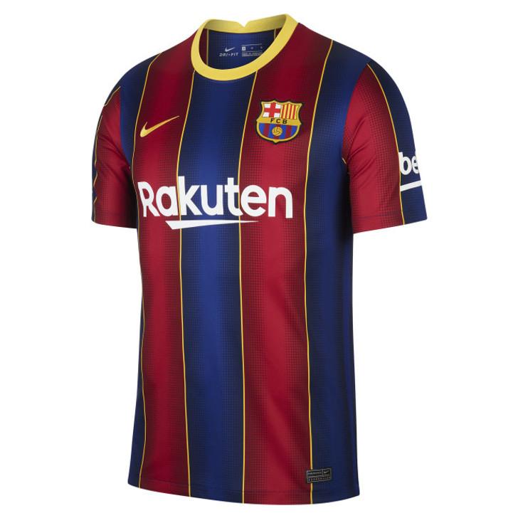 Nike Men's F.C. Barcelona Stadium Home 20/21 Jersey- CD4232-456