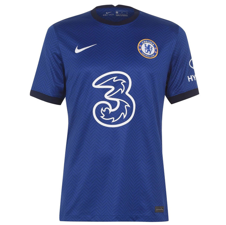 Nike Youth Chelsea F.C. Stadium Home Replica 20/21 Jersey- CD4498-496