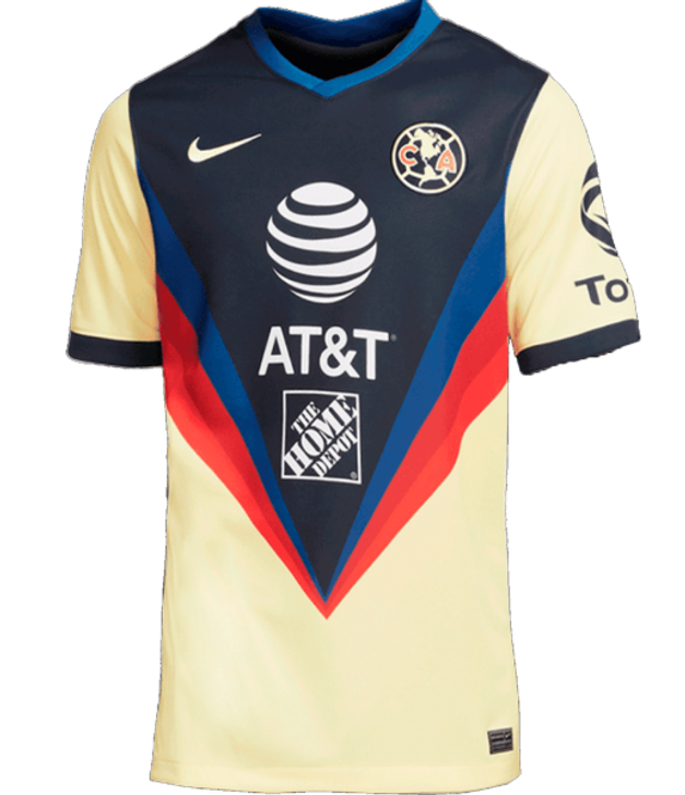 Nike Men's Club America Stadium Replica 20/21 Home Jersey- CD4228-706