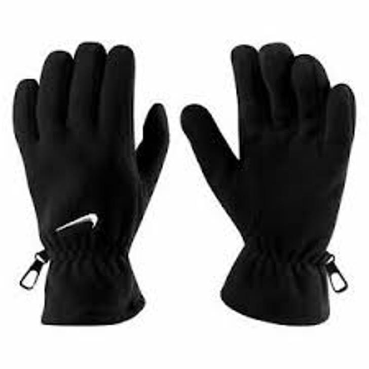 Nike Fleece Gloves - Black - (111620) (NWG05010LG