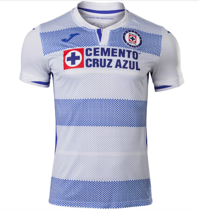Joma Men's Cruz Azul Away Replica 20/21 Jersey- CRZ101021.20