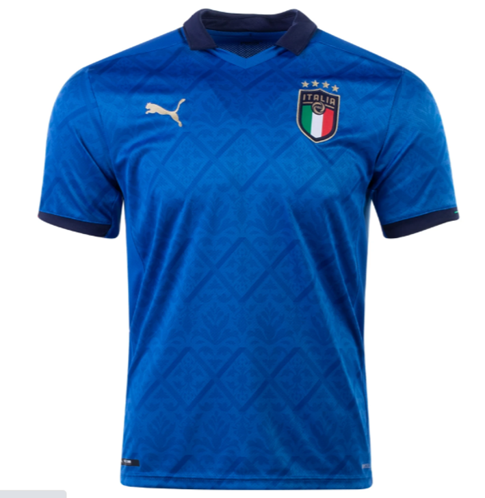 Puma FIGC Italy Home 20/21 Replica Jersey- 756468-01