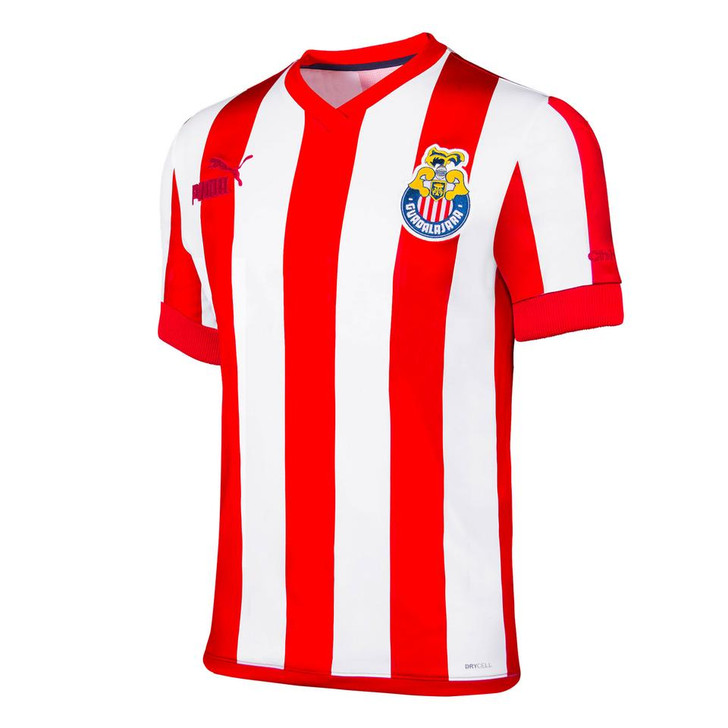 Puma Men's Chivas Guadalajara 115 Anniversary Jersey- 763226-01