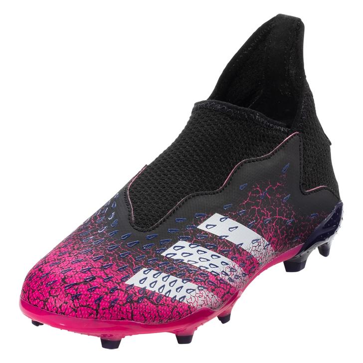 Adidas Predator Freak .3 Laceless FG Junior Firm Ground Soccer Cleats- (060721)