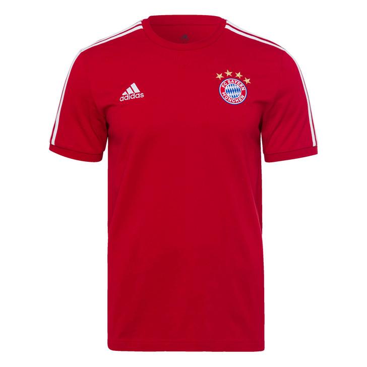 Adidas F.C. Bayern Munich 3 Stripe Tee- GR0687
