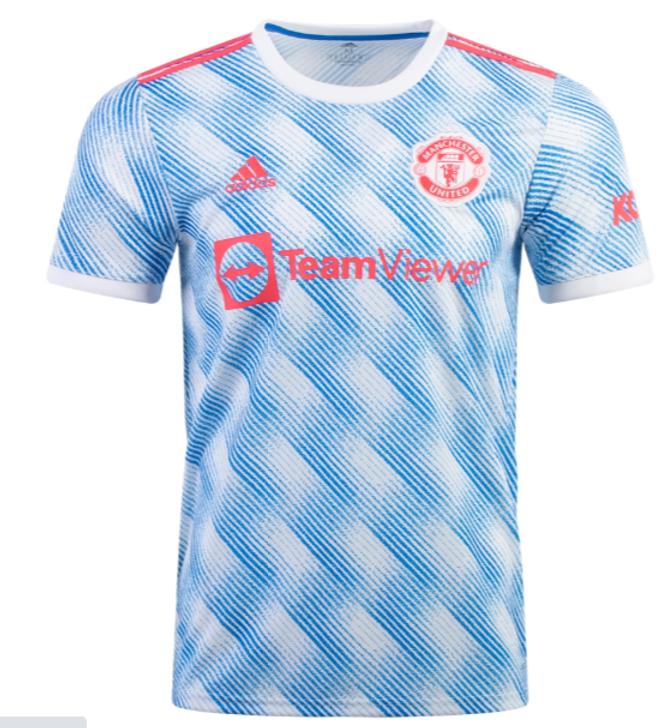 Adidas Men's Replica Manchester United Away Jersey 21/22- GM4621