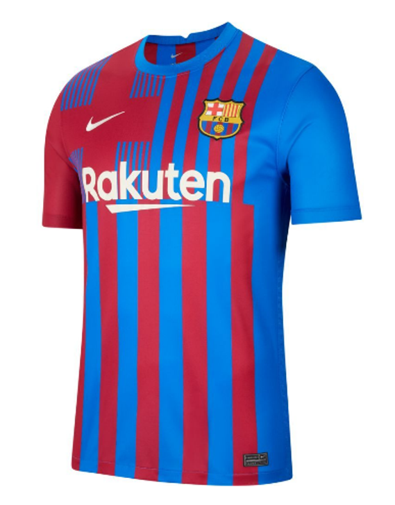 Nike Youth FC Barcelona Stadium Home 21/22 Jersey-