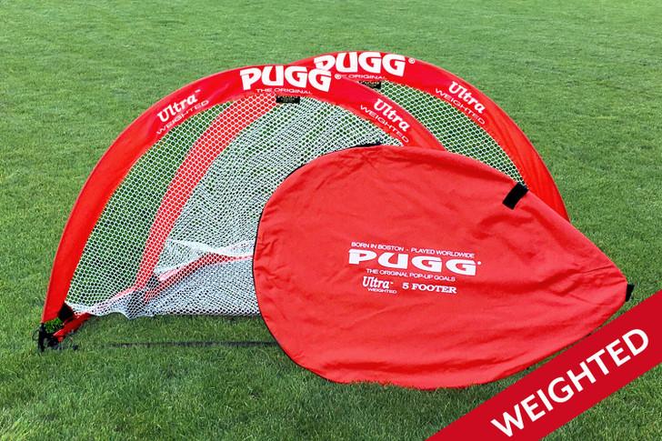 Pugg Ultra 5 Foot Weighted Pop-up Goal- PUGGULTRA5FT