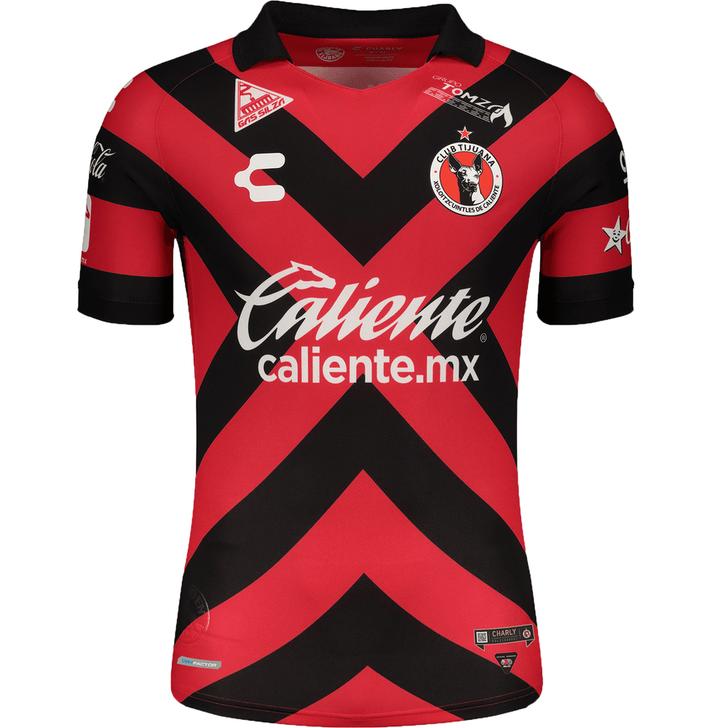 Charly Tijuana Xolos 2021-22 Men's Home Stadium Jersey