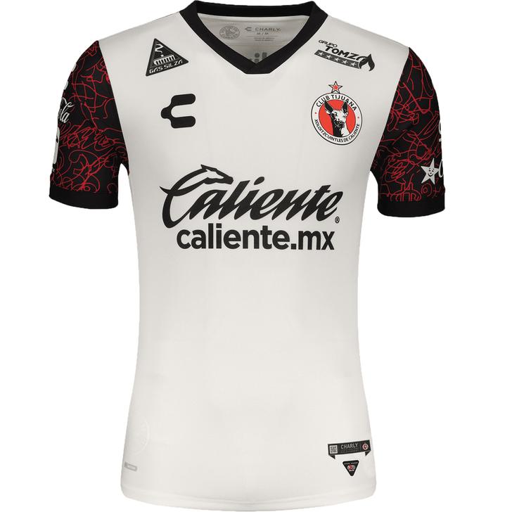 Charly Tijuana Xolos 2021-22 Men's Away Stadium Jersey
