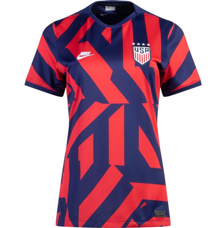 Nike Women's Replica USWNT Away Jersey 21/22 - Navy/Red