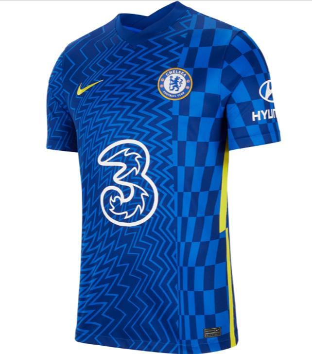Nike Chelsea Stadium Home 21/22 Jersey-  CV7889-409