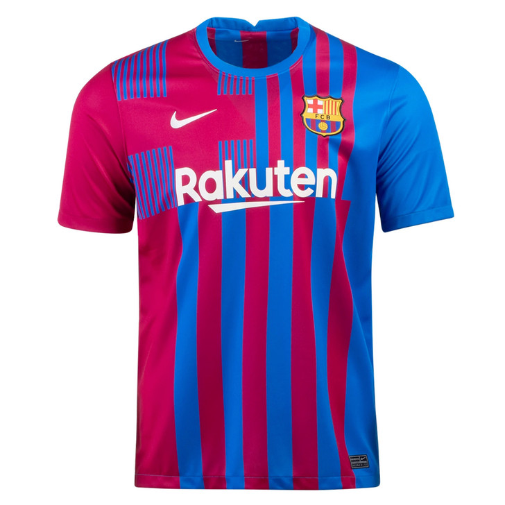 Nike Men's F.C. Barcelona Stadium 21/22 Home Jersey- CV7891-428