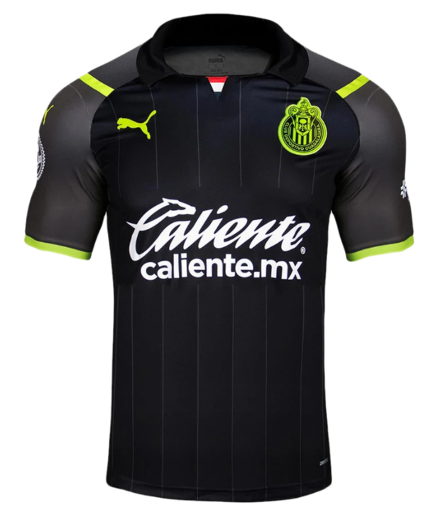 Puma Men's Chivas de Guadalajara Away Jersey 21/22 - Puma Black