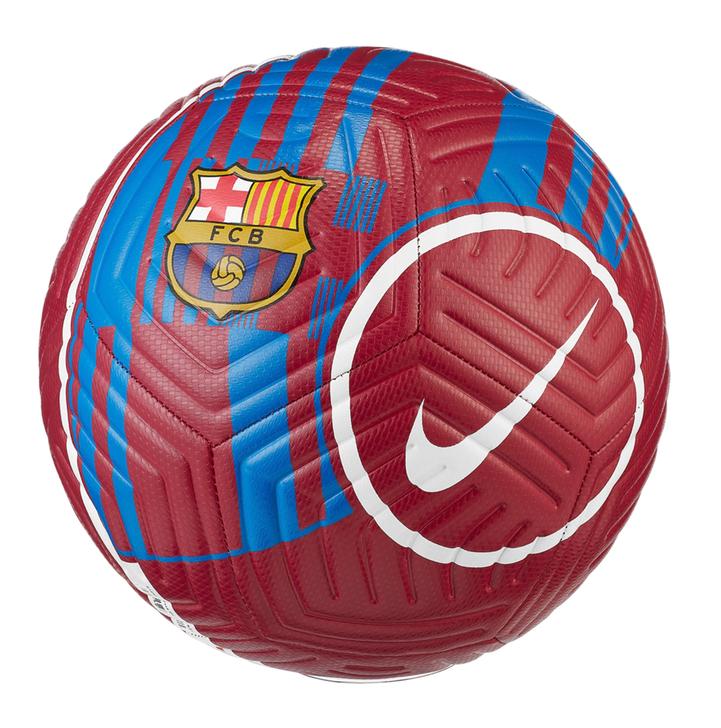 Nike Barcelona Strike Soccer Ball - Size 5 - Noble Red (101121)