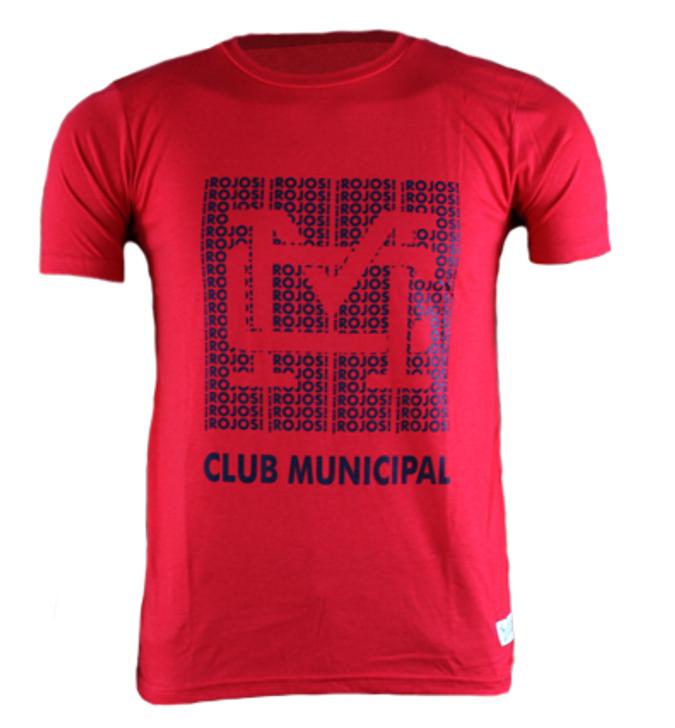 Licencias Deportivas C.S.D Municipal Monogram T-Shirt- LDMUN104