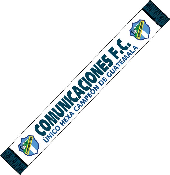Licencias Deportivas Communicaciones F.C Scarf/Bufanda- LDCOM201