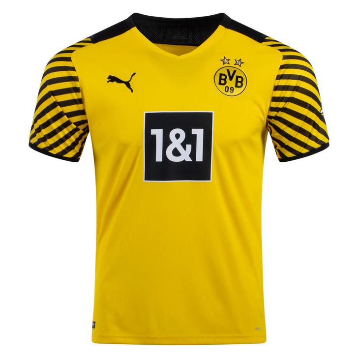 Men's Replica Puma Borussia Dortmund Home Jersey 21/22 (081121)