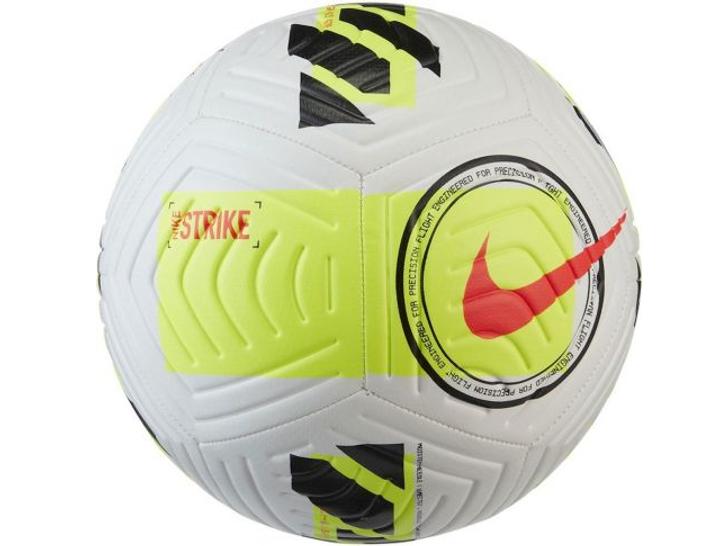 Nike Strike Soccer Ball - White-Volt-Black (082121)