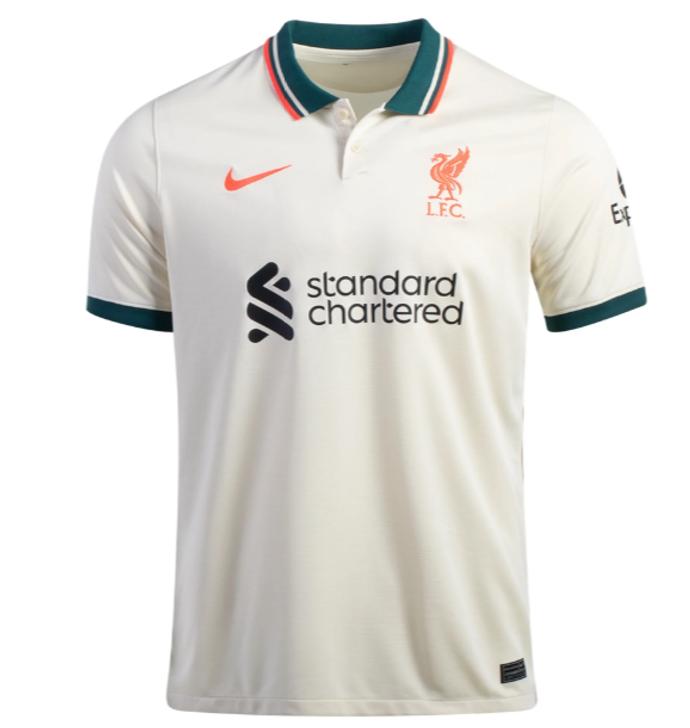 Nike Men's Liverpool F.C. Stadium Away 21/22 Jersey- DB2558-111