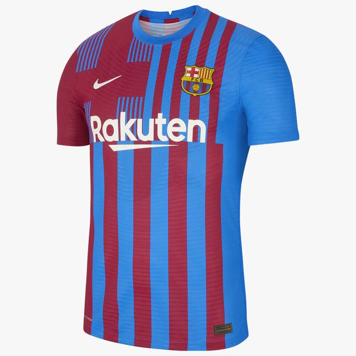 Nike Men's F.C Barcelona Authentic Home 21/22 Dri-Fit ADV Jersey- CV7847-428