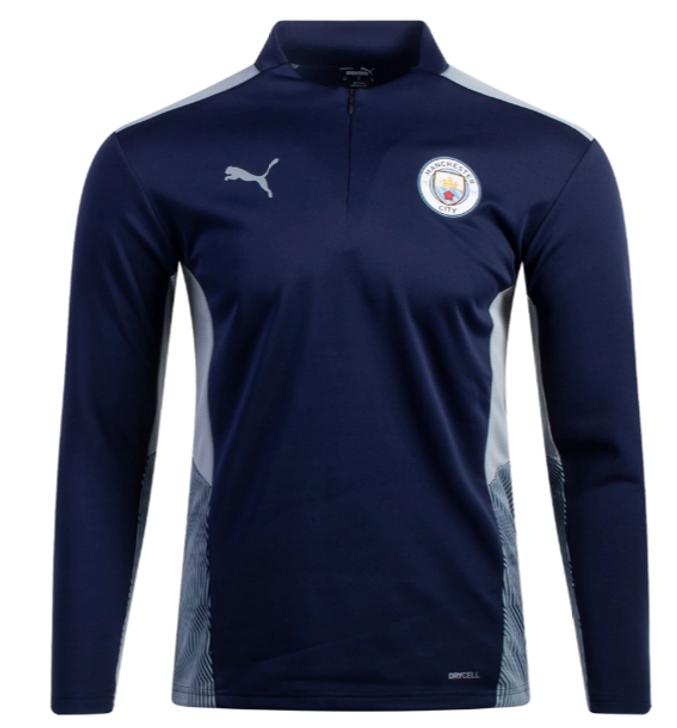 Puma Men's Manchester City Training 1/4 Zip Top- 764574 13