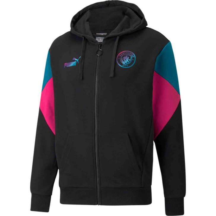 Puma Manchester City Football Culture Full-zip Hoodie-  764513-12