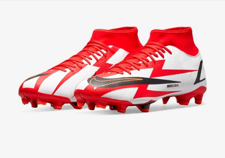 Nike Superfly 8 Academy CR7 FG - Chile Red/Black-White (102121)