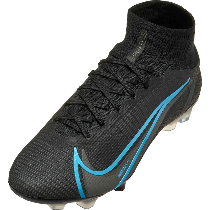 Nike Superfly 8 Elite FG - Black/Iron Grey (101421)