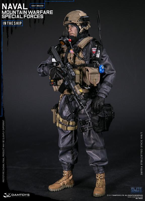 Naval Mountain Warfare 1//6 Scale Damtoys Action Figures GPS /& Gauges Set