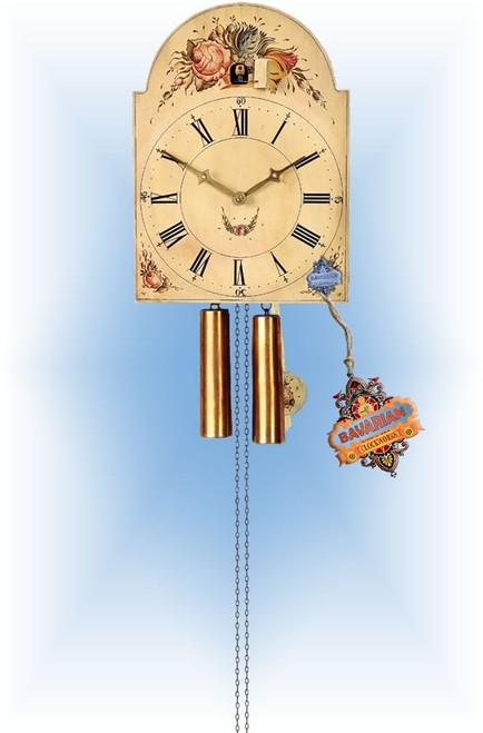 Rombach & Haas | 3583 | 14''H | Circa 1738 | Vintage | Shield Style cuckoo clock | full view